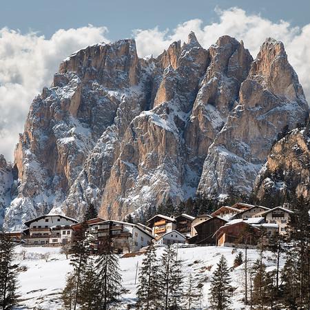 Rosengarten / Catinaccio Group, Val di Fassa, Dolomites\