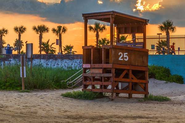 At The End of The Day - Galveston, Texas