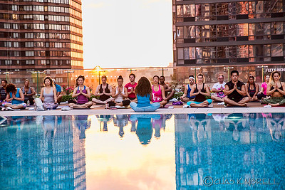 Yoga Event - Lifetime Sky - NYC
