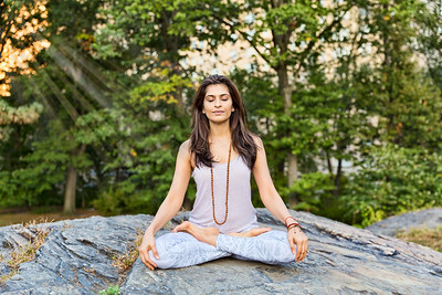 Yogi and Meditation Guide, Tania Kazi... Central Park, NYC