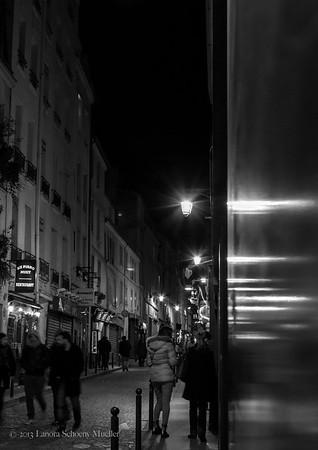 St. Patrick's Day, rue Mouffetard, Paris