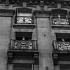 Wrought iron balconies, Boulevard Voltaire, Paris