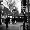 Metro rue des Boulets, Paris, just next to Cafe l'Aquarium.