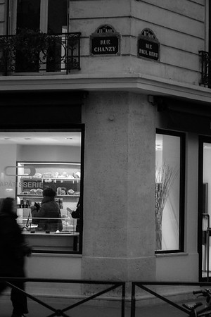 Bakery on the corner of rue Chanzy and rue Paul Bert, Paris