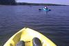 Cell phone capture, kayaking on Lake Jordan