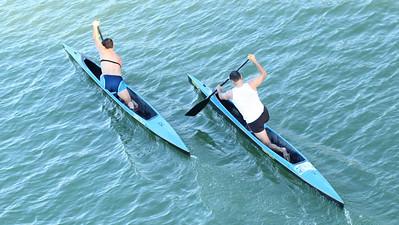 Canoeing in Sevilla, Espana!