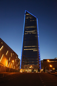 Duke Energy Tower - Charlotte NC. This new addition to the city's skyline has been spectacular.