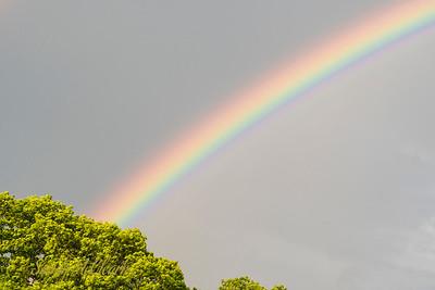 Rainbow over Dartmouth.