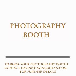 Photography Booth by gavin conlan photography Ltd