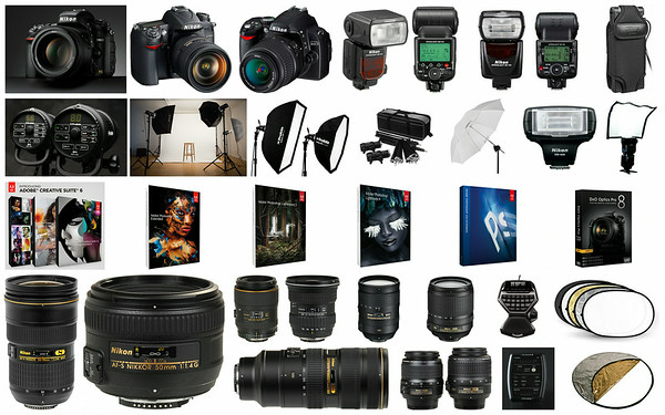 Photography equipment as of December 2013