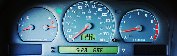 Instrument cluster. Edited.