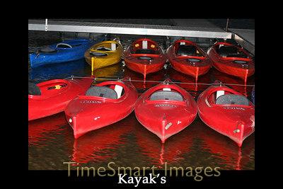 Kayaks - Deep Creek, Maryland