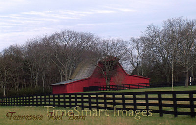 Tennessee Red Barn