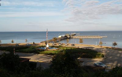 Fairhope, Al. Pier after Katrina