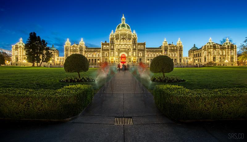 Parliament promenade