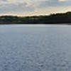 This is Long Lake in Littleton, Massachusetts. Click to see the full size image to get the full effect of the panorama.