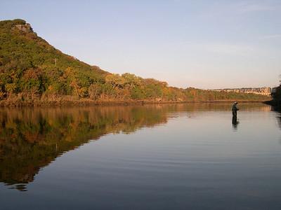 20051109010- Fishing on the Brazos below Possum Kingdom