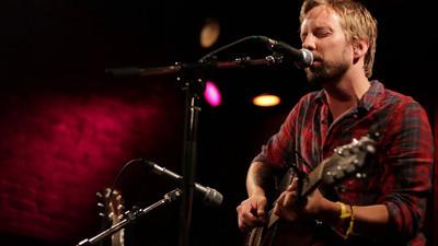 Ryan McMahon at the Duncan Garage Showroom. September 8th, 2011