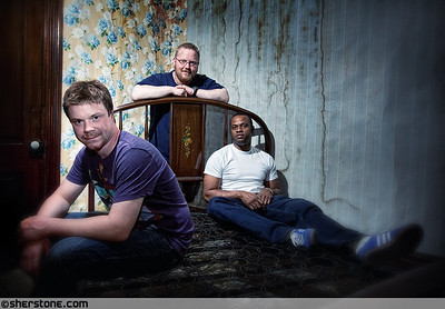 An impromptu shoot done in a building from the early 1900's, before it was gutted for renos. Stone Vaughn Toole are three super guys that ROCK!  SVT facebook page