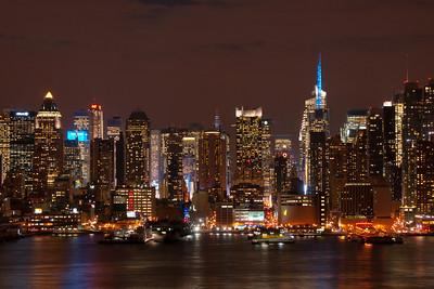 Night Skyline NYC