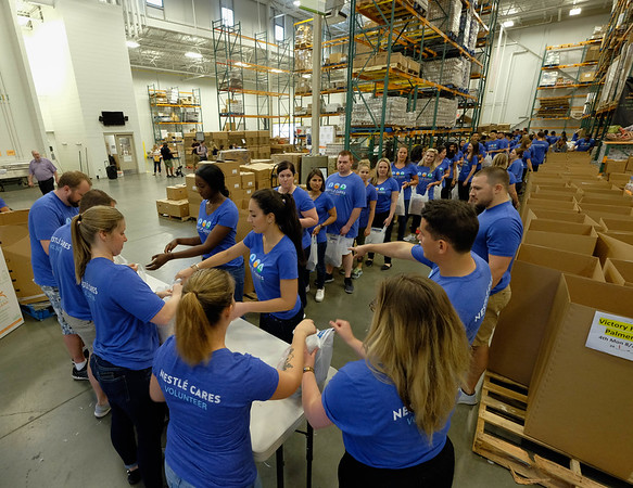 Capital Area Food Bank – Nestlé USA Volunteer Event 2018