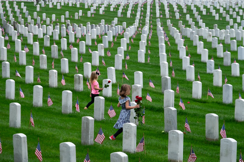 Memorial Day at Arlington National Cemetery 2018