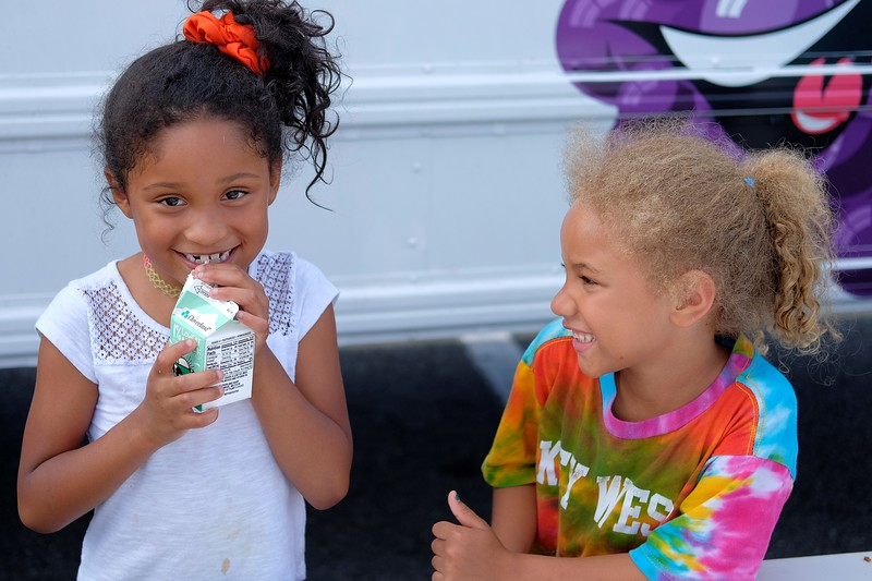 Capital Area Food Bank – V.A. Summer Bus Program 2018