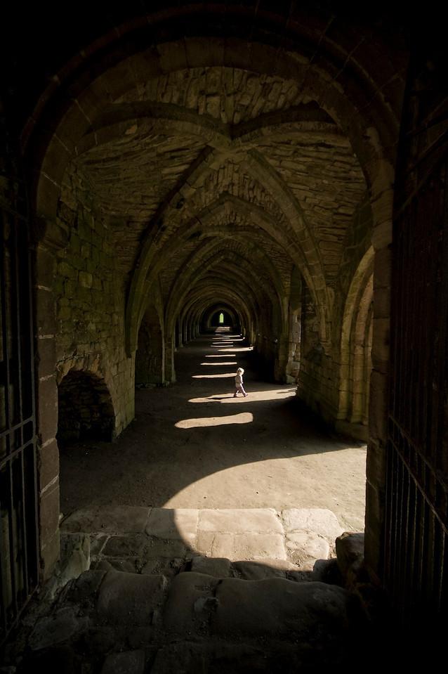 Fountains Abbey, Ripon, UK