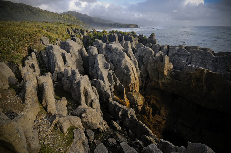 Pancake Rocks, South Island, NZ