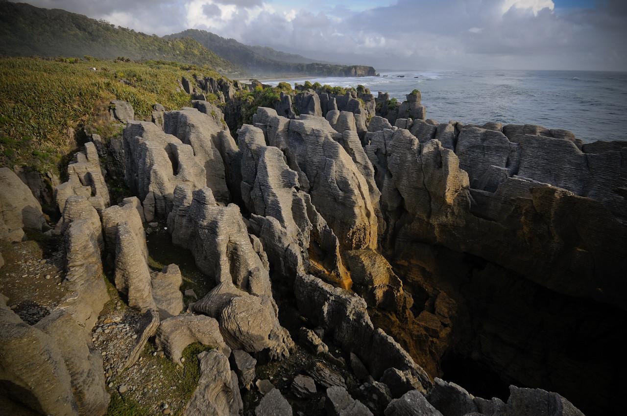 Pancake Rocks, South Island, NZ