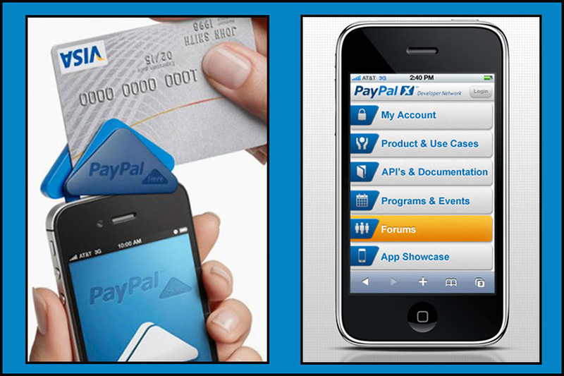 PAYPAL MOBILE CREDIT CARD DEVICES
