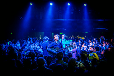 The Lumineers perform at Mao Livehouse May 11th, 2014, in Beijing, China
