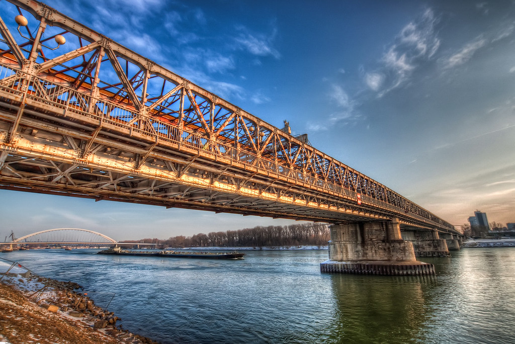 Old photo of the Old BridgeOne from the time I started taking HDR photos. This photo is already more than two years old. The time really goes by so fast :)HDR from three shots, taken with Canon 450D with Sigma 10-20mm lens, handheld.