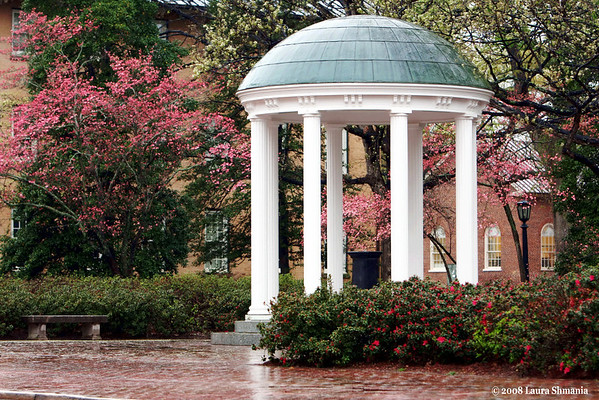 "4-6-08-- saturday<br /> the old well on unc-chapel hill campus<br /> <br /> ""memorize places.  settle your eyes on a place and learn it.  see it under the snow, and when first grass is growing, and as rain falls upon it.  feel it and smell it, walk on it, touch the stones, and it will be with you forever.  when  you are far away, you can call it back.  when you need it, it is there in your mind.""<br /> <br /> -- tony hillerman"