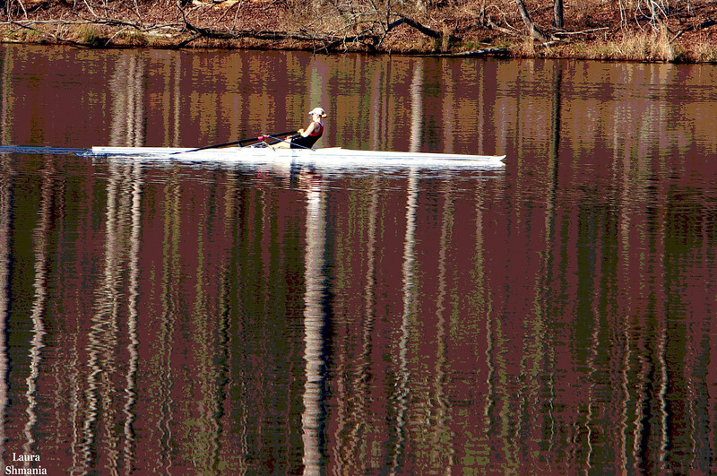 "4-18-07-- Wednesday<br /> reflections while rowing<br /> <br /> ""thoroughly enjoy solitude""<br /> <br /> -- barbara ann kipfer<br /> from the book called,<br /> instant karma- 8,879 ways <br /> to give yourself and others <br /> good fortune right now"