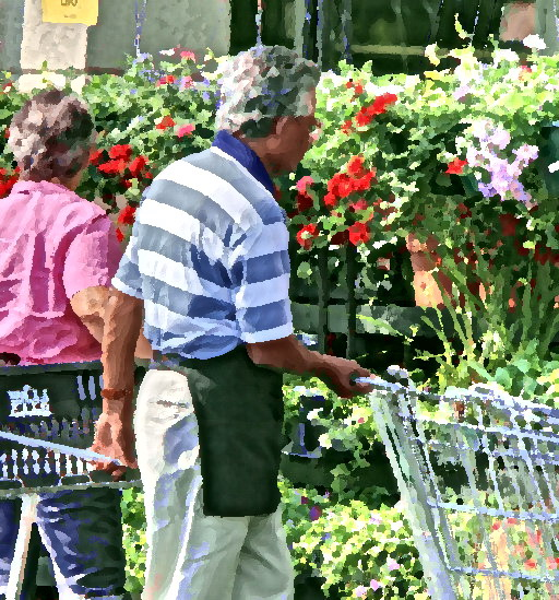 "6-12-07-- Tuesday<br /> at the grocer<br /> <br /> <br /> <br /> ""color is my day-long obsession, joy and torment.""<br /> <br /> -- claude monet"