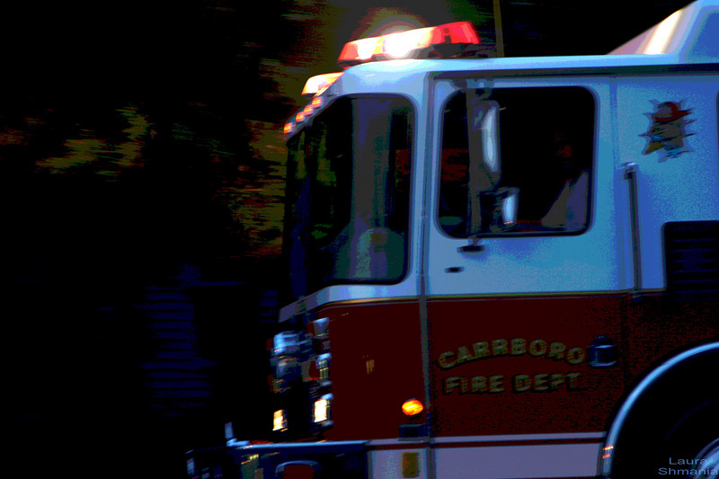 "6-25-07-- Monday<br /> fire trucks were pulling out just as I was passing by!<br /> <br /> <br /> <br /> ""life is slippery. <br /> here, take my hand.""<br /> <br /> -- h. jackson brown, jr."