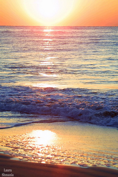 """4-8-07-- Sunday<br /> Easter sunrise at Wrightsville Beach<br /> <br /> """"May the words of my mouth<br /> and the meditation of my heart<br /> be acceptable in thy sight, O Lord.""""  <br /> <br /> -- Psalm 19:14"""