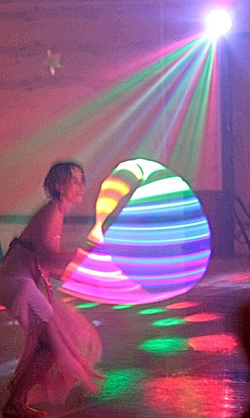"""6-22-09-- monday another from the hoopers' ball.  I have created a gallery of these shots that I am calling """"hoop dance painting""""--  <a href =""""http://www.butterflites.com/gallery/8655465_4whdL"""">click here</a>   """"dancing is like dreaming with your feet!""""  -- constanze"""