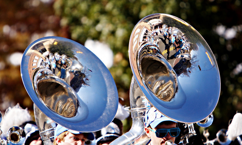 11-7-09-- satruday<br /> homecoming parade for unc-ch