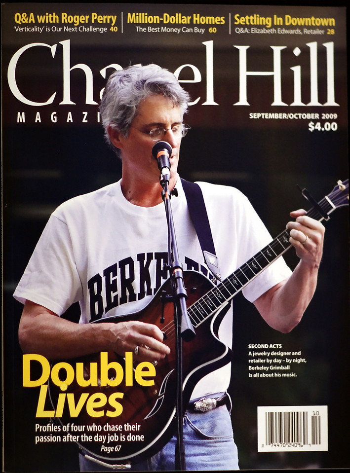 """9-15-09-- monday<br /> got the Cover Shot on the Chapel Hill Magazine!  It's really neat to go by a news stand, glance over, see the pic, and take a double take!  and think, """"hey!  That's my shot!!"""""""
