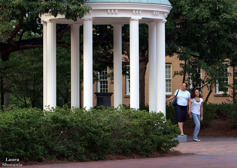 "9-1-07-- Saturday<br /> passing by  the Old Well on the UNC-CH campus<br /> <br /> <br /> ""the great opportunity is where you are. <br /> every place is under the stars. <br /> every place is the center of the universe…"" <br /> <br /> -- john burroughs"