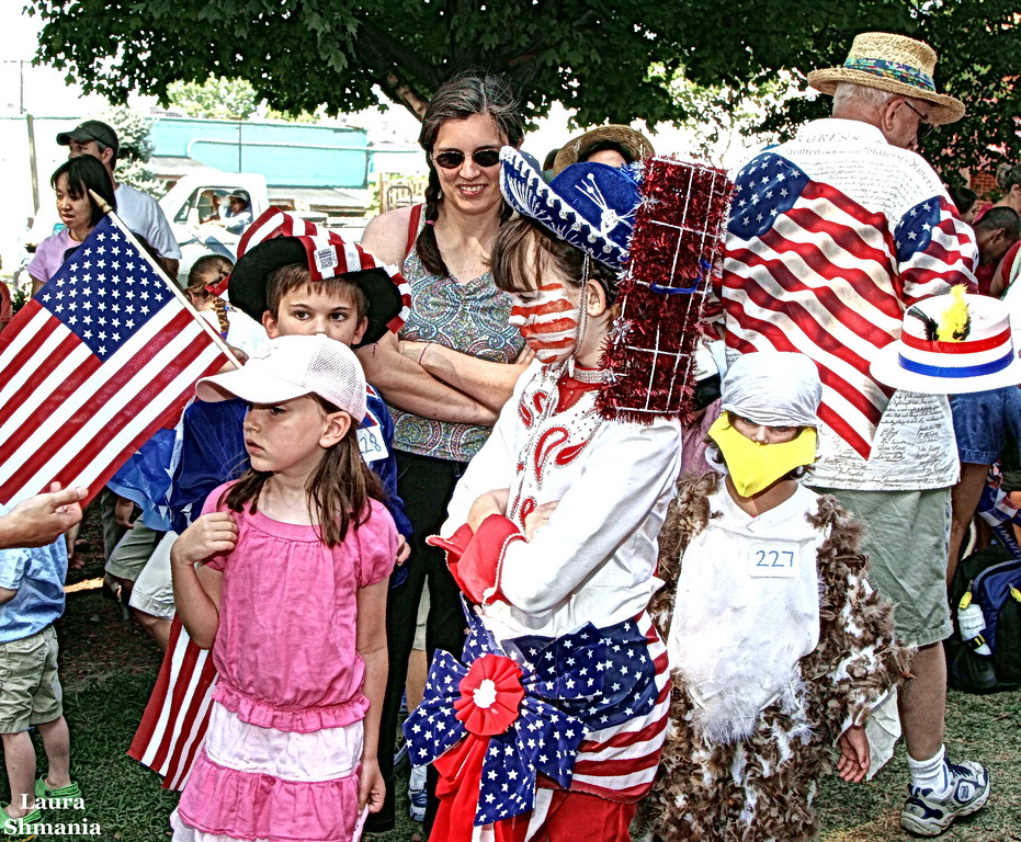 7-4-07--Wednesday<br /> july 4th family celebration<br /> flags!! photo gallery will be posted friday