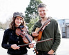 Heard some awesomely wonderful music from this duo, the Stringtown Ambassadors, who were playing for a spread of picnickers on the lawn at Weaver Street Market. The musicians are visiting from Asheville, where they balance studies with their music gigs. Their first CD, Bilateral A-Chord, is due out shortly.