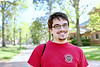 "A graduate student in the Law School, he was previously a music major. Even though the subject matter is completely different, he finds the studies surprisingly similar. Both require discipline, public performance, and adjusting to feedback. ""My motivation is the prospect of learning new things, especially from unexpected sources, and pursuing what makes me happy. That's really what gets me out of bed in the morning."" — with Robert Scott Sparks"