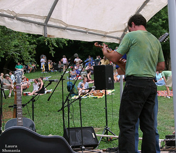 Music at the Rivermill Outdoor Music Concert Series in Saxapahaw   The Maudlin Brothers Band