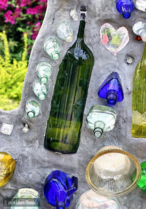 Bottle House by Minnie Evans