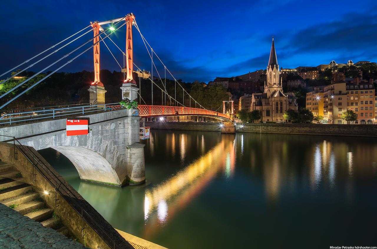 Passerelle St Georges, Lyon, France