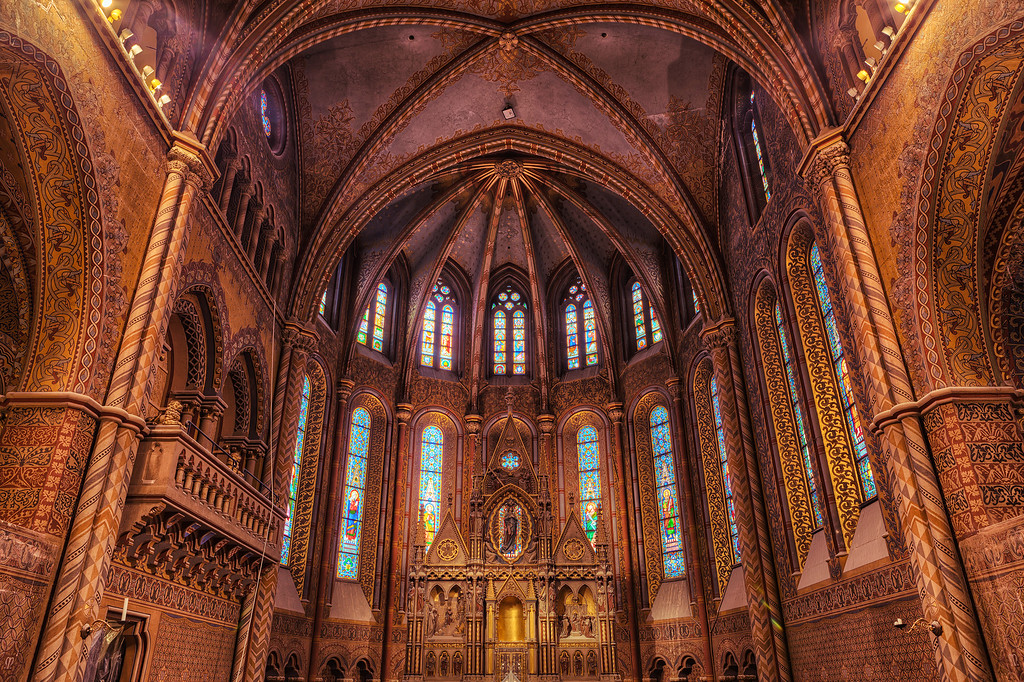 Inside the Matthias Church