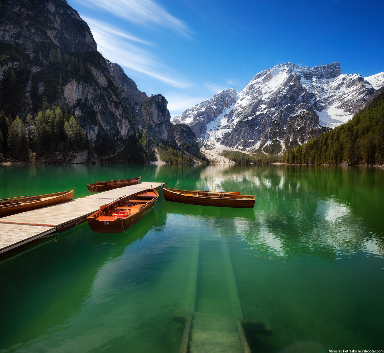 Clear water at Lago di Braies